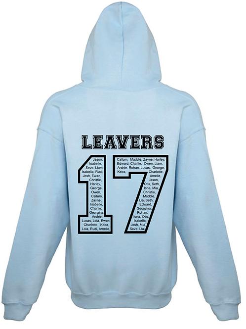 Personalised 2017 Leavers Hoodie (GD57B)