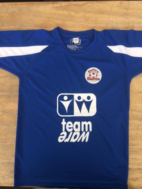 Shefford Saints Kids Neoteric sports training shirt (Sponsored)