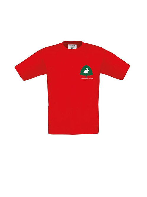 Boxmoor Pre- School T-Shirt Red