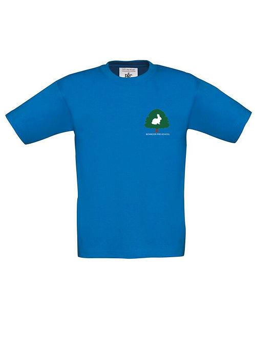 Boxmoor Pre-School T-Shirt Blue (2 pack)