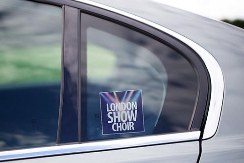 LSC Cling Window Sticker