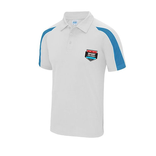 Sport Explorers Polo Sapphire and White