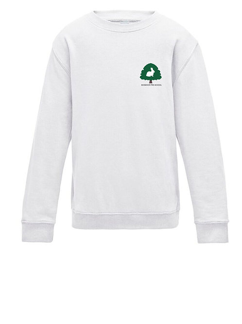 Boxmoor Pre-School Sweatshirt White (2 pack)