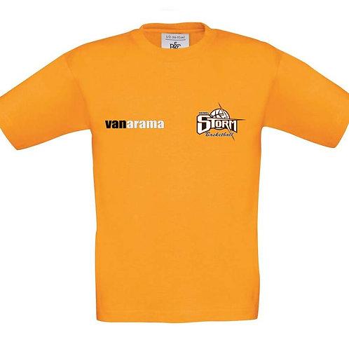 Storm Kids Personalised T-Shirt - Orange (B190B)