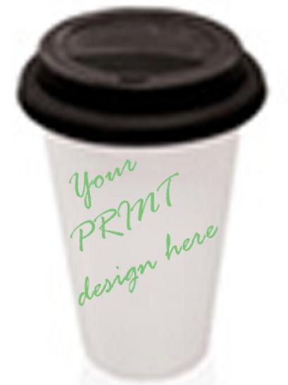 Ceramic Travel Mug Sublimation Printed
