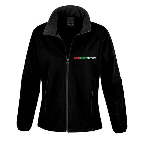 GVH Ladies Softshell Jacket Black (R231F)
