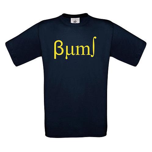 BUMS Navy T-Shirt (BA150)