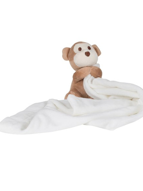 Embroidered Monkey Comforter (020)