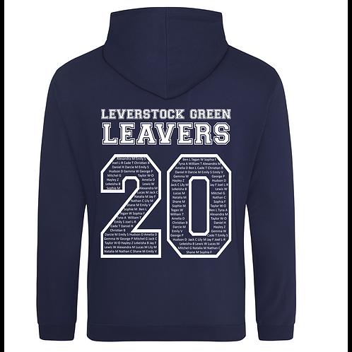 Leverstock Green CE School Leavers Hoodie 2020