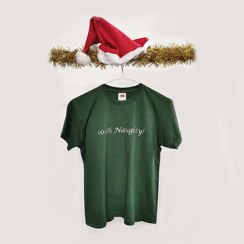 100% Naughty T-shirt