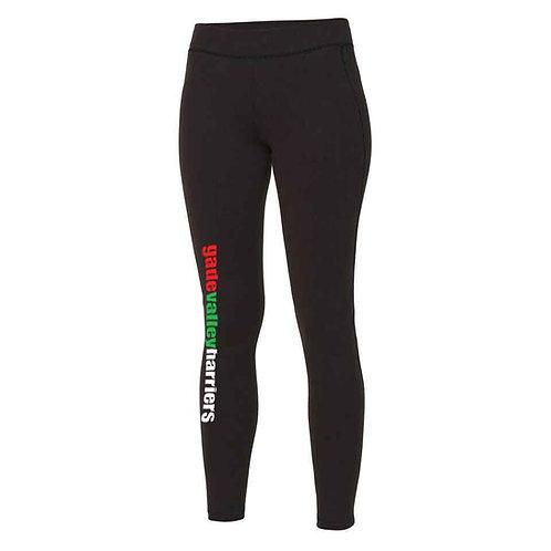 GVH Womens Leggings - Black (JC087)