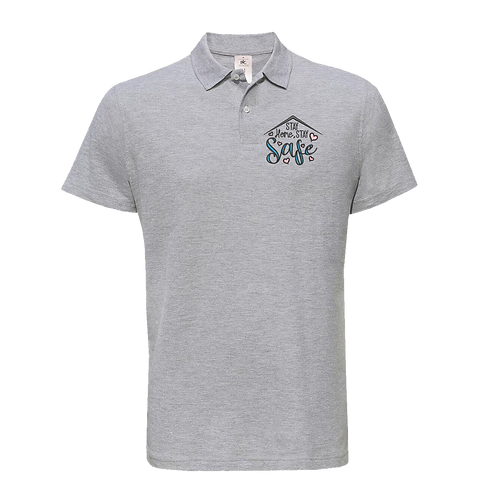 Stay Safe Unisex Polo Shirt