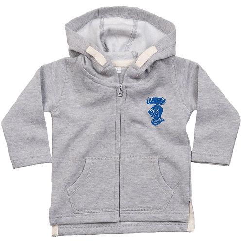 Camelot Baby Hoody - Grey (BZ032)