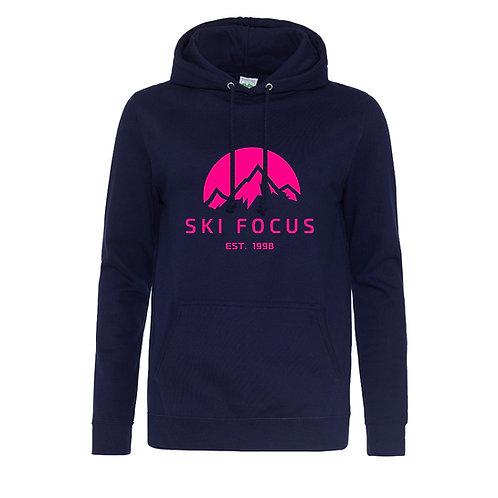 Ski Focus Womens Hoodie