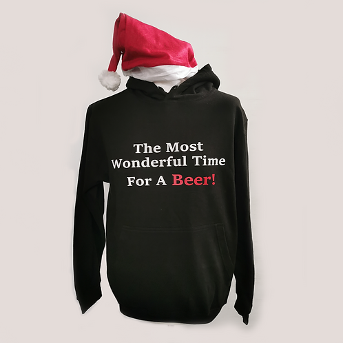 Wonderful Beer Christmas Hoodie