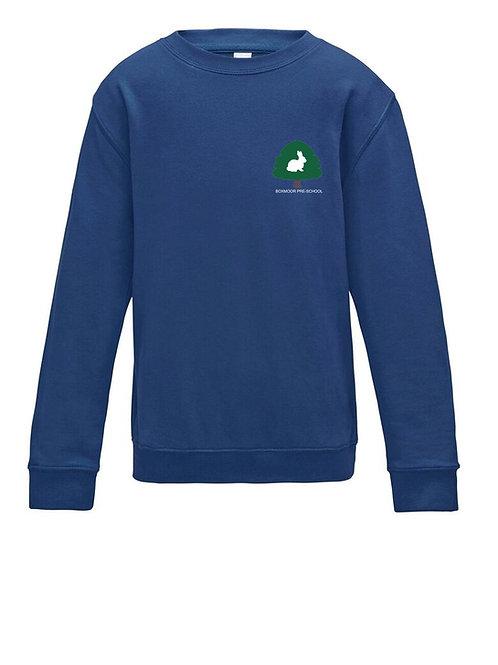 Boxmoor Pre-School Sweatshirt Blue (2 pack)