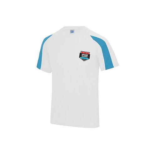 Sport Explorers T Shirt Sapphire and White