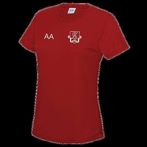 Sandringham Netball Women's Cool T-shirt (JC005)