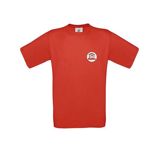Shefford Saints T shirt red