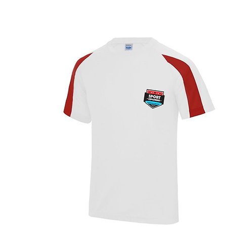 Sport Explorers T Shirt Red and White