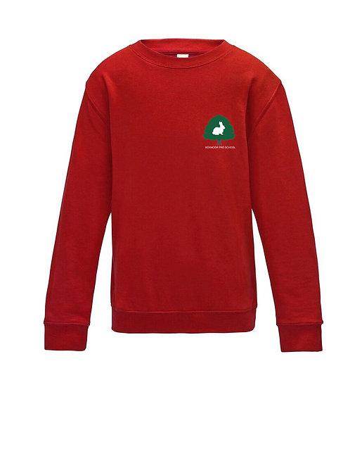 Boxmoor Pre-School Sweatshirt Red