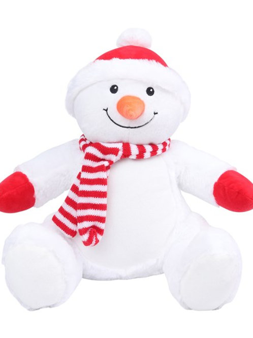 Embroidered Snowman (567)