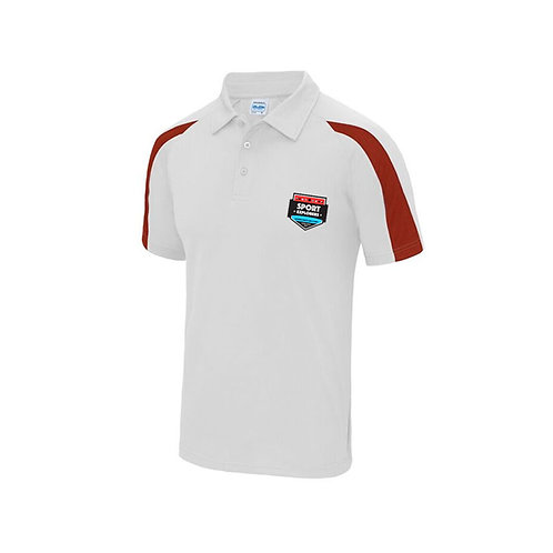 Sport Explorers Polo Red and White
