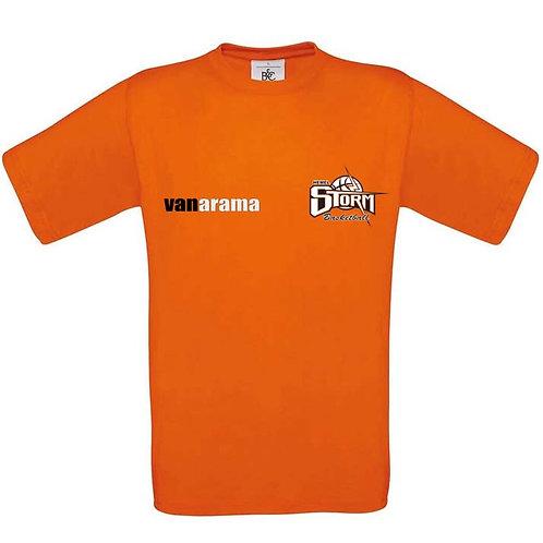 Storm Personalised T Shirt - Orange (BA190)