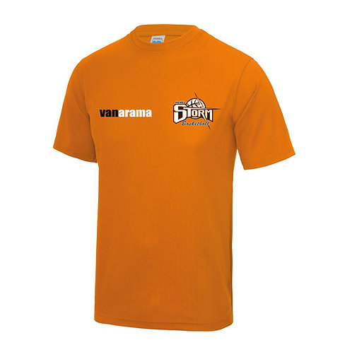 Storm Unisex Performance T Shirt - Orange (JC001)