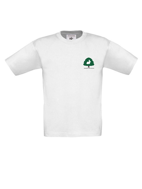 Boxmoor Pre-School T-Shirt White (2 pack)