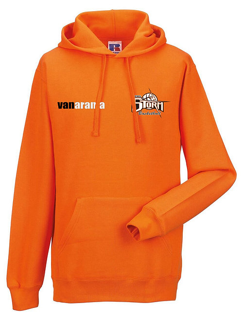 Storm Kids Personalised Hoodie - Orange (J575B)