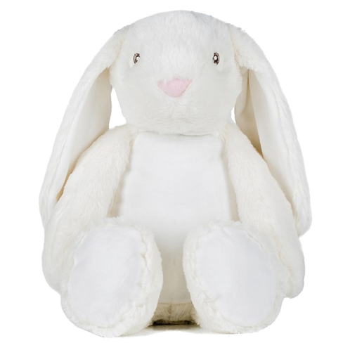 Large Embroidered Zippie Bunny (050)
