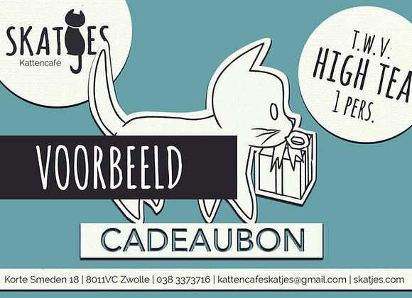Cadeaubon High Tea (1 pers.)