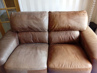 Restoring A Leather Sofa