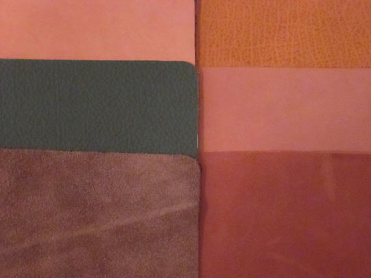 Which Leather upholstery material