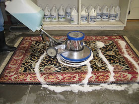 Oriental Rug Cleaners in rug cleaning plant Hull