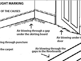 Draught Marking On Carpets