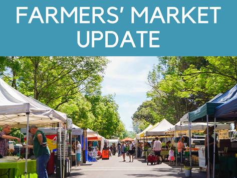 Farmers' Markets Update