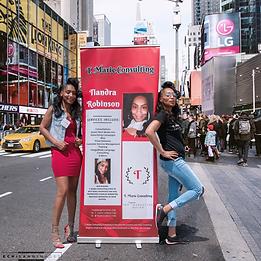 Alter Ego shots of Tiandra on a New York street