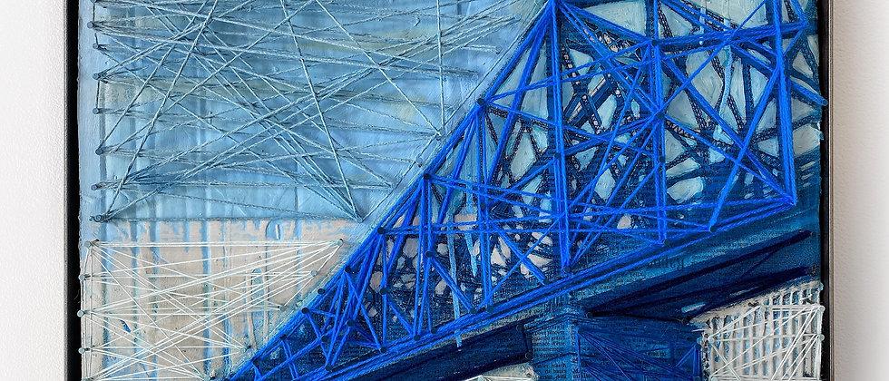 Pont Jacques Cartier (bleu)