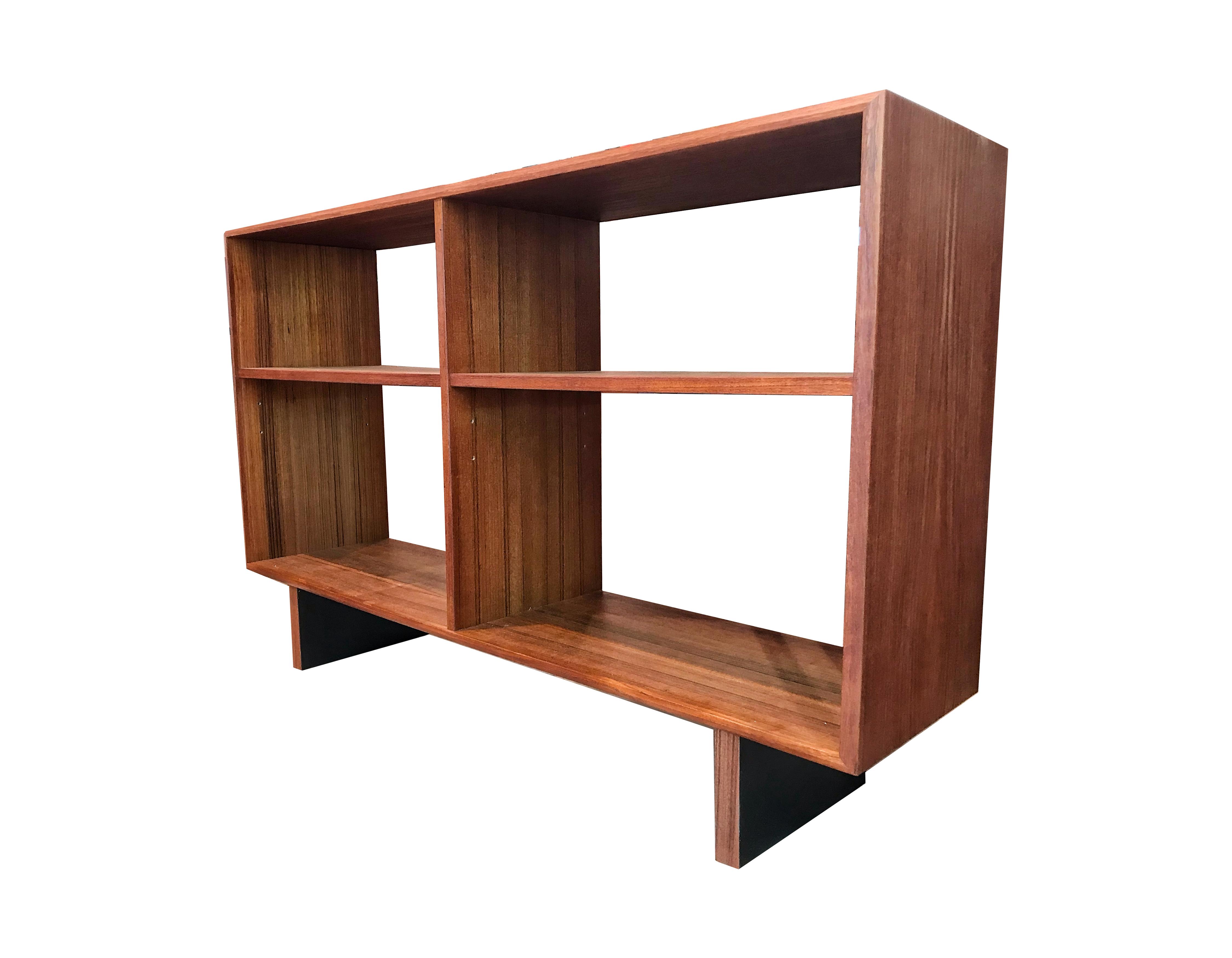 Bibliothèque en teck 60's