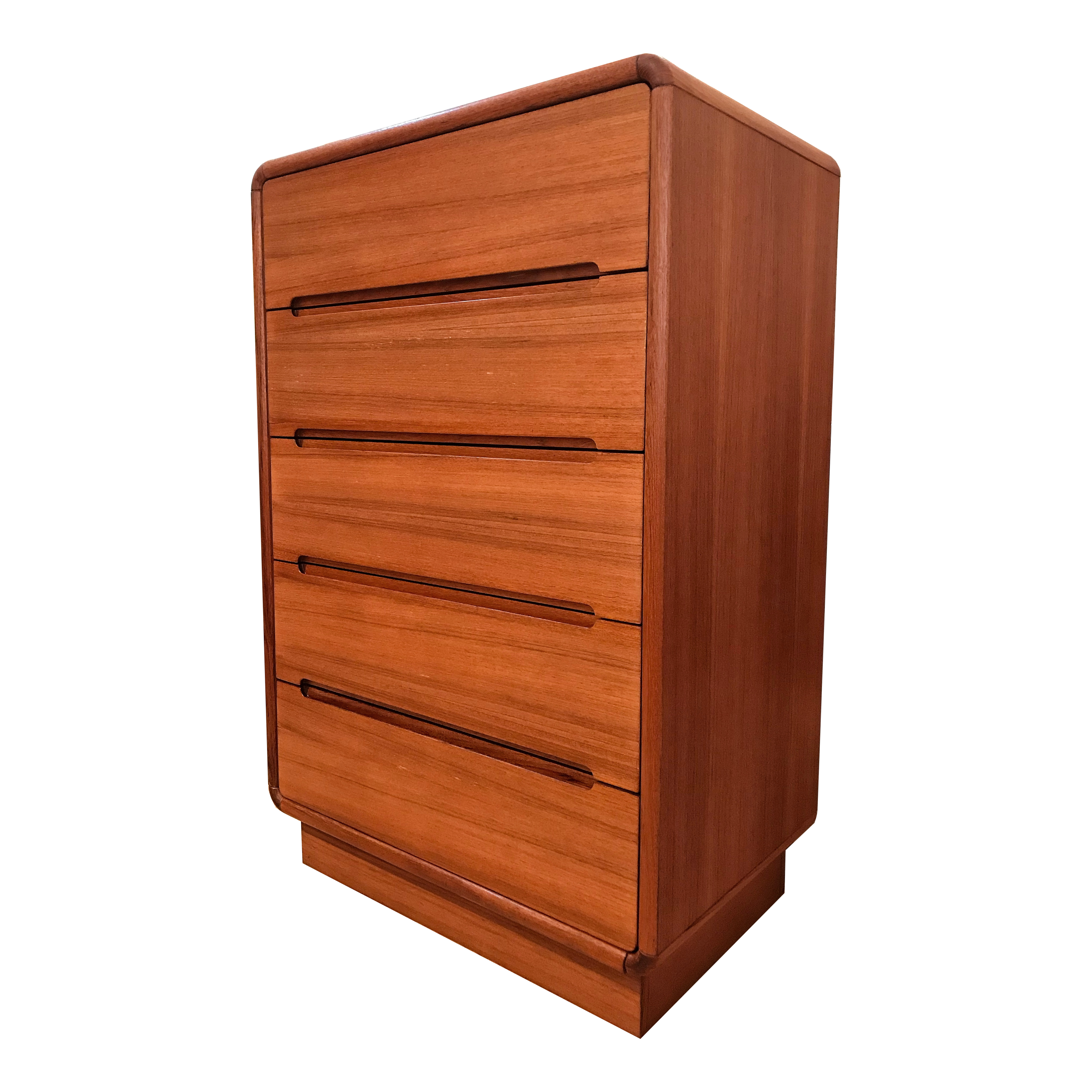 Commode ''Highboy'' en teck 70's