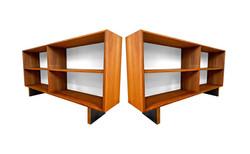 Bibliothèques en teck '70s