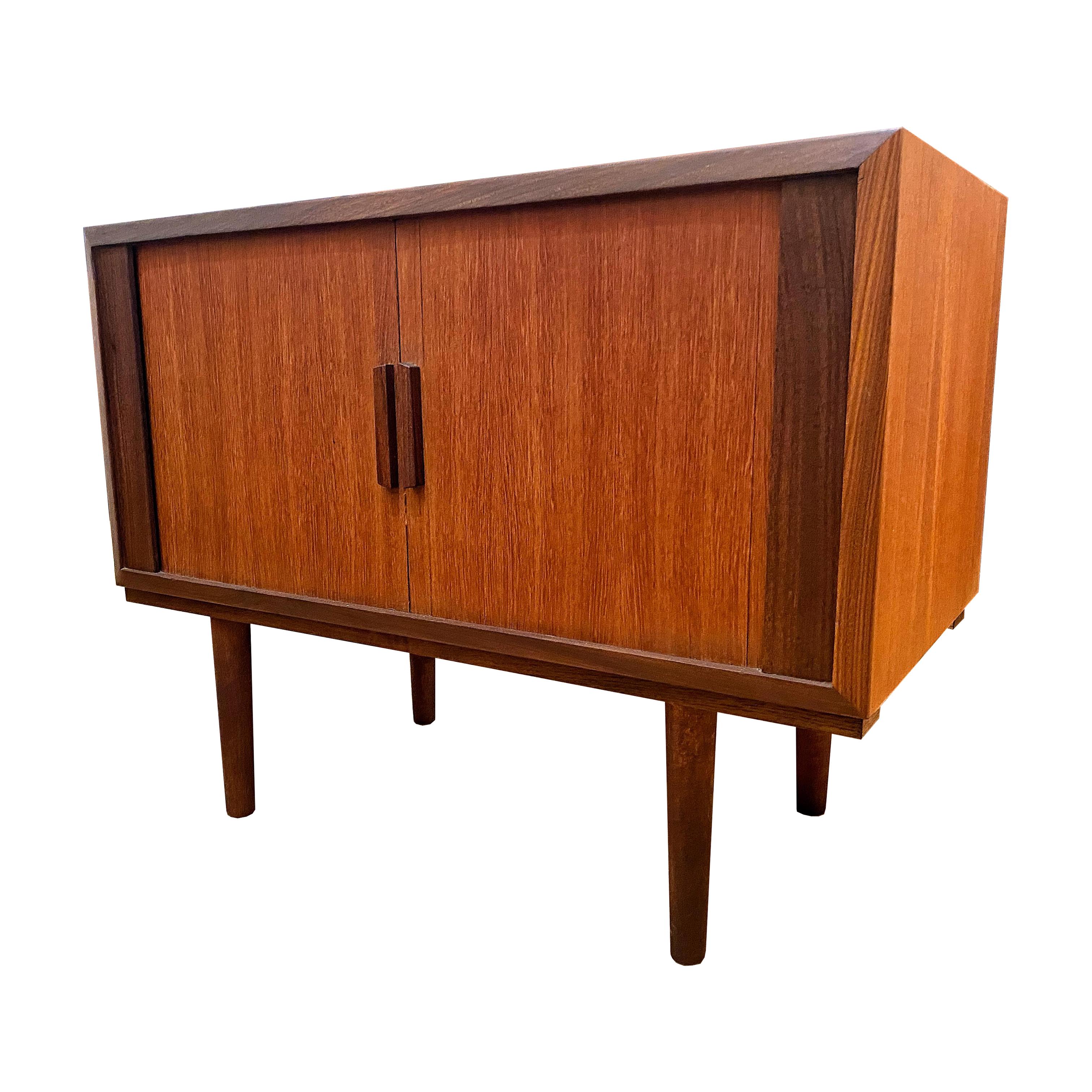 Cabinet en teck 60's