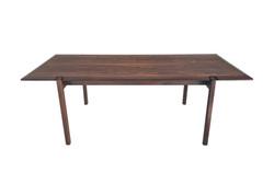 Table basse en bois de rose 60's