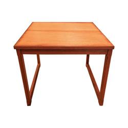Table d'appoint en teck 60's