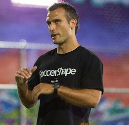 Jonathan Borrajo, co-founder of SoccerShape