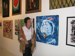 Artist Eva Castelle