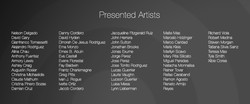 Presented Artists