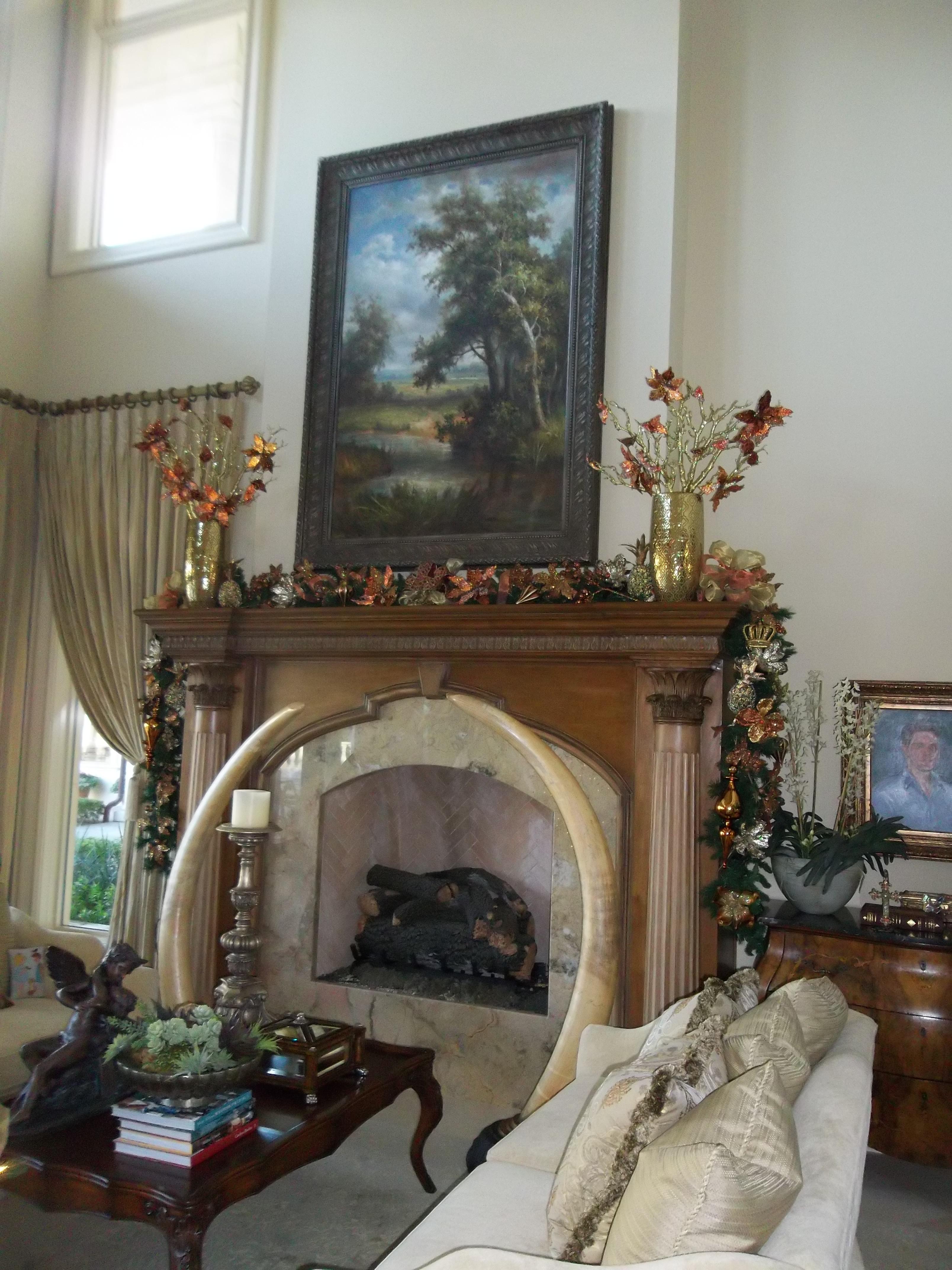 Main Fireplace